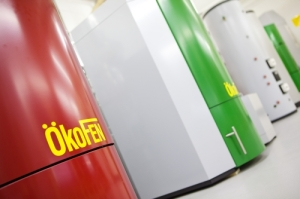 Organic Energy's range of OkoFEN wood pellet heating systems
